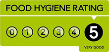 Food Hygiene 5 Rating